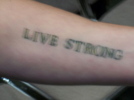 Live Strong Tattoo